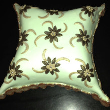 220x220 sq 1426708529342 lace pillow cake