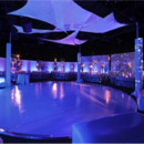130x130 sq 1424889474519 round white dance floor with lighting