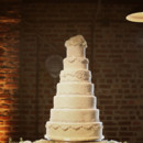 Photo: Photographix  Reception Venue: Houston Station  Event Planner: Sage Nines Event Production  Cake: Dulce Desserts