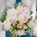 Bridesmaid Attire: J.Crew (dresses), Anthropologie (belts), and Boden (cardigans)  Floral Designer:Seaport Flowers