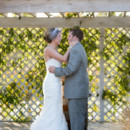 Venue: Butterfly Kisses Pavilion  Dress Designer: Allure Bridals from Fountaine Bridals  Hair Stylist: Susan Lewis of Hair Class Hair Styling  Makeup Artist: Carah Cotterman  Groom and Groomsmen Attire: Calvin Klein  Officiant: Francois Youakim of Last Minute Wedding Officiant