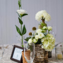 Venue:Mercury Hall  Event Planner: Jessica Moore ofSomething to Celebrate  Floral Designer:Last Petal