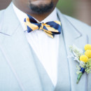 Groom's Attire: Jones Select Clothing  Floral Designer: Any Occasion Creation andWestchester Floral Decorations