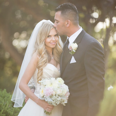 Hilltop california estate wedding wedding real weddings for Wedding dress rental san jose