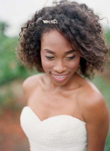 Cool African American Wedding Hairstyles Wedding Hair Amp Beauty Photos Short Hairstyles Gunalazisus