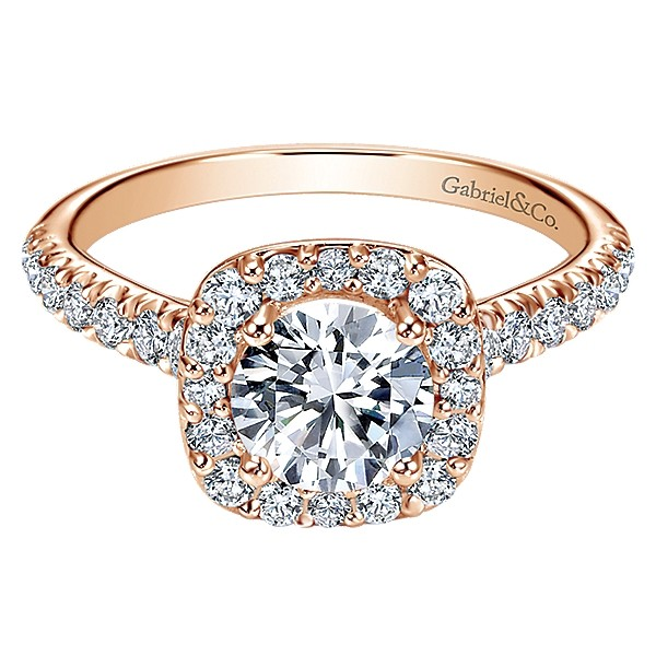 600x600 1475010679620 gabriel 14k pink gold diamond halo engagement ring