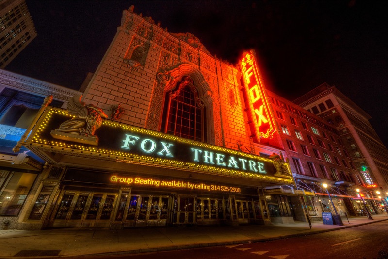 The Fabulous Fox Theatre Venue Saint Louis Mo