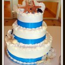 130x130 sq 1236612702949 beachstarshellweddingcake