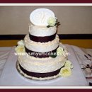 130x130 sq 1236612762549 winecreamplaqueweddingcake
