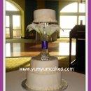 130x130 sq 1239816446359 softmarblecallalillysweddingcake