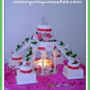 130x130 sq 1239816515765 beautiful10pieceweddingcakewithfountain