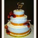 130x130 sq 1277832873973 orangecallalillyweddingcake