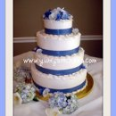 130x130 sq 1277832968302 softblueribbon4tierweddingcake