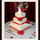 130x130 sq 1277832987833 supermanandbrideweddingcake