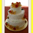 130x130 sq 1312148493829 12.sanibeltropicalflowersweddingcake