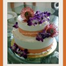 130x130 sq 1312148821314 18.spidertropicalflowersweddingcake
