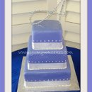 130x130 sq 1312149888876 purplefondantweddingcake