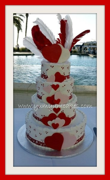 Yum Yum Cakes Fort Myers FL Wedding Cake