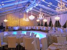 220x220 1421385745362 clear span wedding