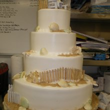 220x220 sq 1342367386213 beachweddingcake2.jpg