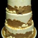 130x130 sq 1408552774552 lg8af04dbeach wedding cake waterview