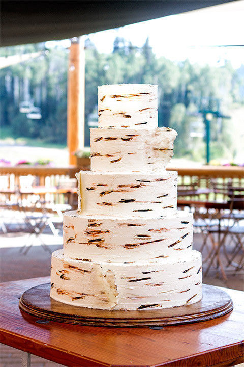 Snow Park Bakery At Deer Valley Resort Wedding Cake