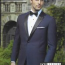 130x130 sq 1426100853219 ike behar blake navy 1bp w black satin lapel 8561c