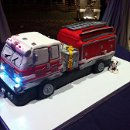 130x130 sq 1352235085446 firetruckcake