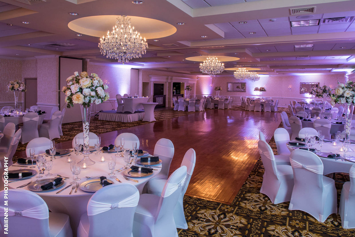 Wedding Floral Packages Nj : Windsor ballroom at the holiday inn of east