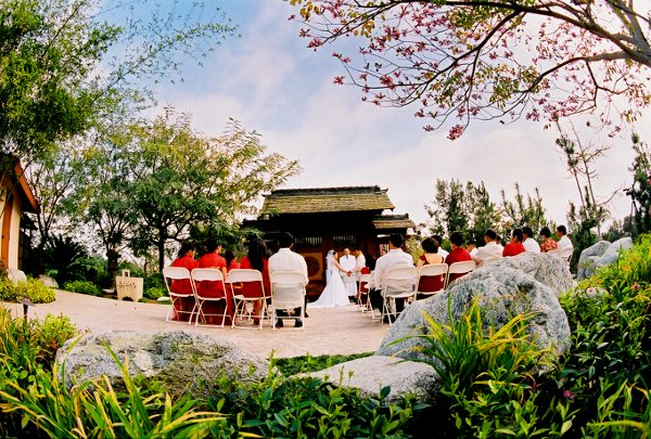 Japanese Friendship Garden Wedding Ceremony Reception Venue California San Diego La Jolla
