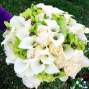 130x130 sq 1290029309640 whitengreenbouquet