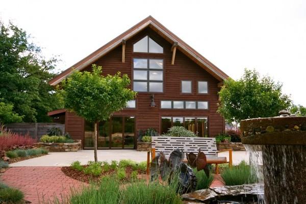 Botanical Garden Of The Ozarks Fayetteville Ar Wedding Venue