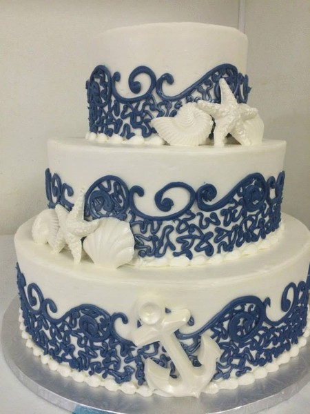 600x600 1459908527145 beach navy lace wave design with white shells