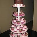 130x130 sq 1308375631125 cupcaketowerorderedbyrickplannercoordinator007