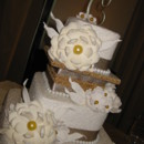 130x130 sq 1367131760250 christine lee wedding cake april 27 2013 037