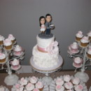 130x130 sq 1399416082810 christine and jeff wedding cup cake tower 01