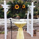 130x130 sq 1471386272470 resin arch with sunflowers