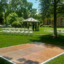 130x130 sq 1487609293731 dance floor with ceremony chairs