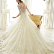 220x220 sq 1469746554451 y21666bkweddingdresseswithsleeves 510x680