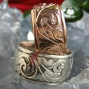 130x130 sq 1218751905794 hand engraved ring 14krosegold sterling silver th