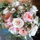 130x130 sq 1416536783836 bridal bouquet of david austin roses and solt pink