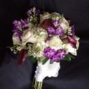 130x130 sq 1416540785921 sahara roses wax flowers purple stock and purple c