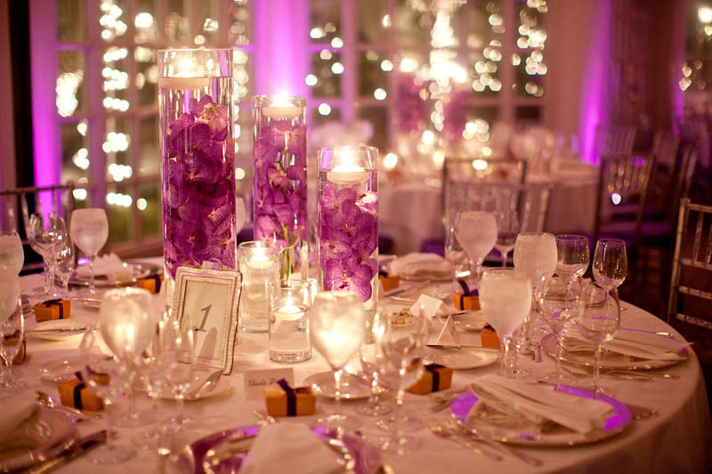 decor phenomenal favors gifts indianapolis in weddingwire - Purple Hotel Decor