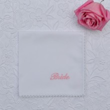 220x220 sq 1427750505329 bride white wedding handkerchief