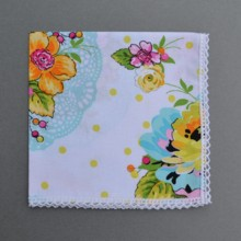 220x220 sq 1429038945985 wedding bouquet handkerchief