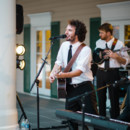 The reception even had a live band!   Venue: Antebellum Weddings at Oak Island  Band: The Park Band