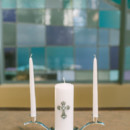 A unity candle was placed on the altar.  Ceremony Venue:St. Andrews Presbyterian Church