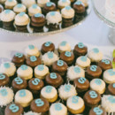In addition, there were cupcakes. At the end of the night, they jetted off to their honeymoon in Costa Rica.  Reception Venue/Caterer:Harborside Restaurant