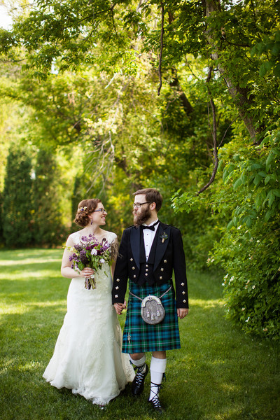 Offbeat Indiana Orchard Wedding Real Wedding Photos By