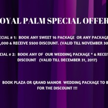 1 Wedding Deal Discount
